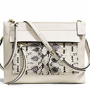 Coach Snake Print Crossbody Bag